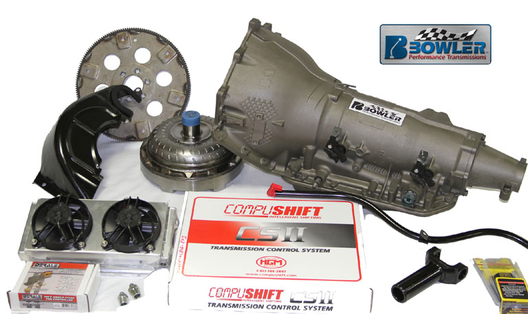 Bowler 4L85E GM Performance Transmission Package Up To 1000 Ft Lbs of Torque