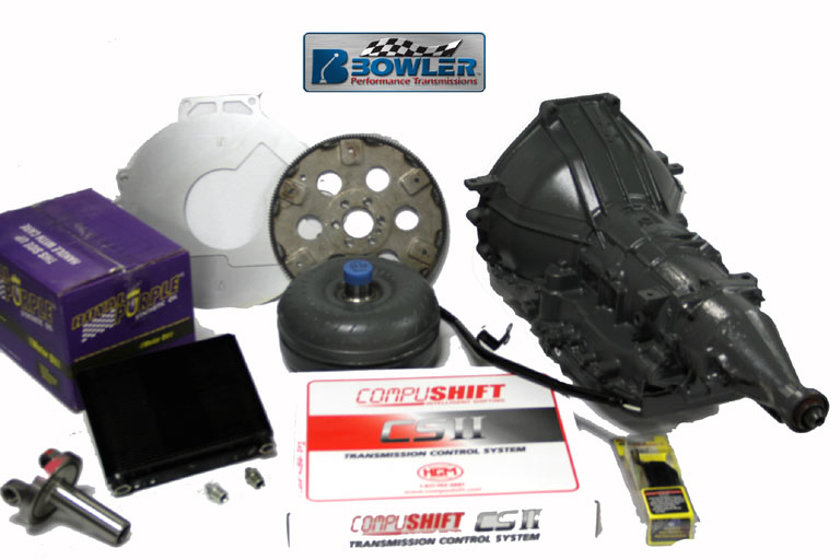 Bowler 4R70W Ford Roush Transmission Package For Up To 450 Ft Lbs Of Torque
