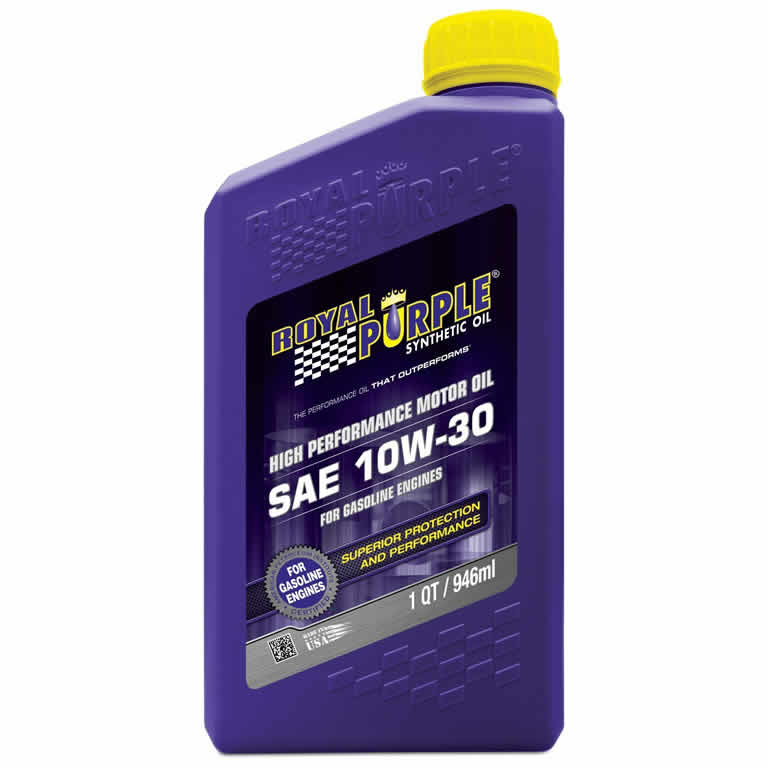 Royal Purple 10W30 Synthetic High Performance Motor Oil (quart)