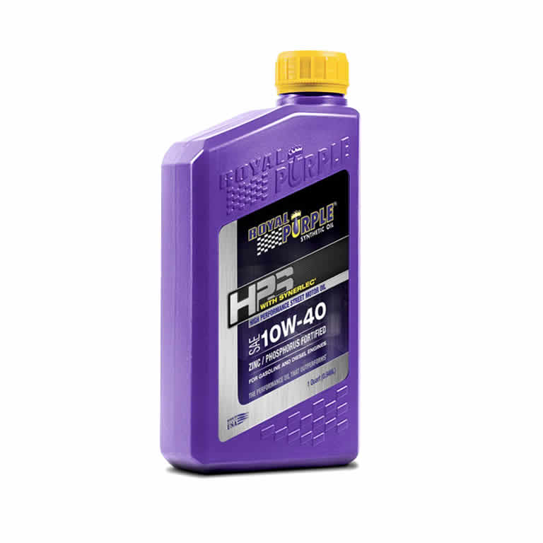 Royal Purple HPS 10W40 Synthetic Motor Oil (quart)