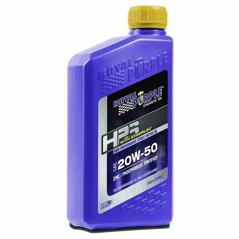 Royal Purple HPS 20W50 Synthetic Motor Oil (quart)