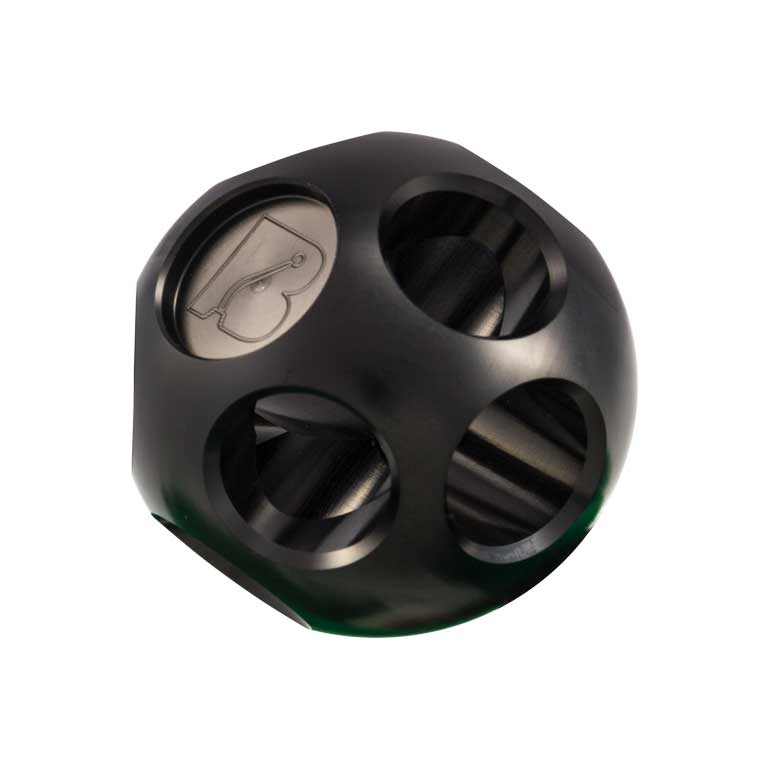 Bowler Multi-Hole Gloss Black Anodized Shift Knob