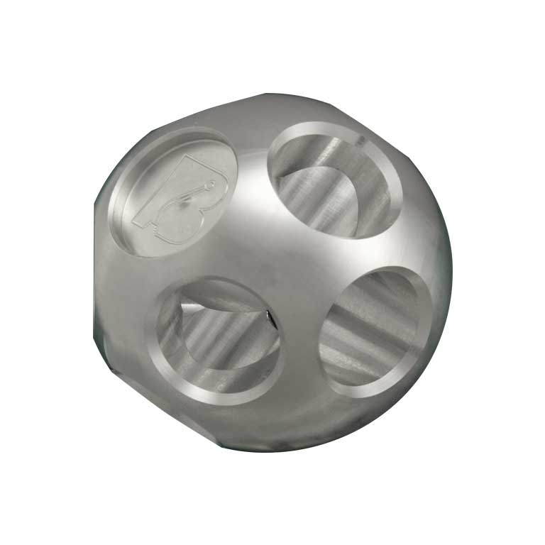 Bowler Multi-Hole Raw Aluminum Shift Knob