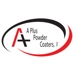 A Plus Powder Coaters Logo