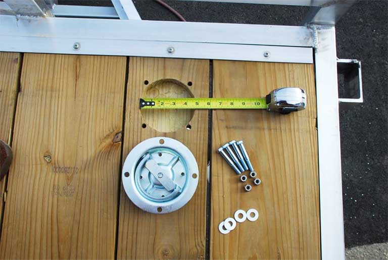 Recessed 360-degree Swivel D-Ring M-901 Install