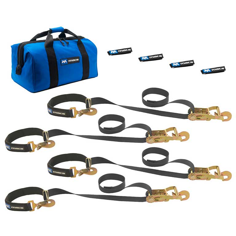 Mac's Super Pack Integrated Axle Straps