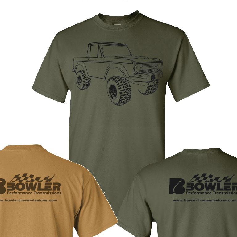 Bowler T-Shirt Green Front