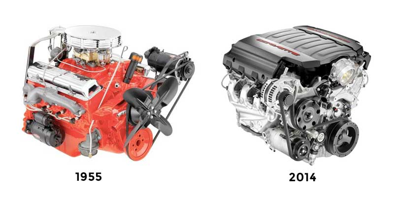 Old vs New LS Engines