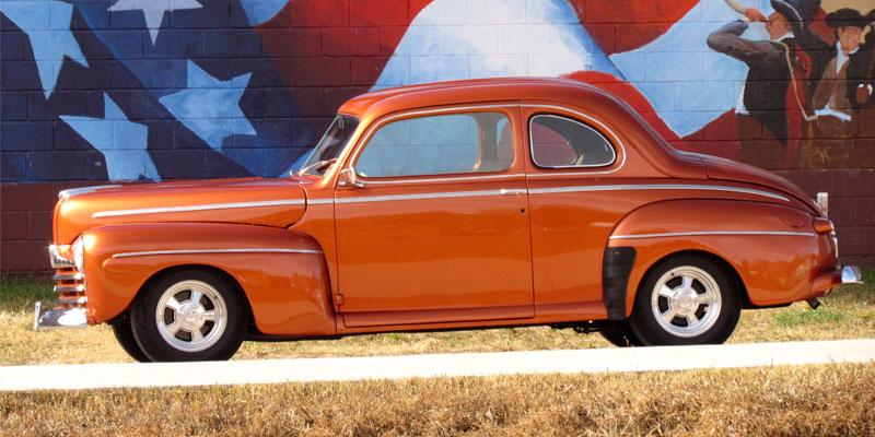 1966 Chevelle Orange