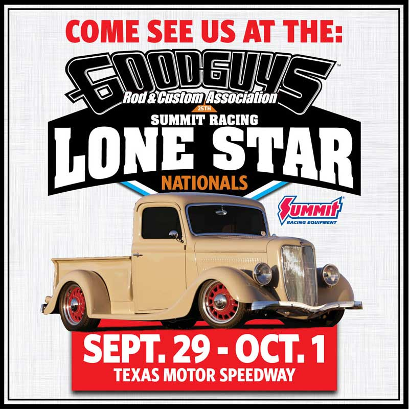Goodguys 25th Summit Racing Lone Star Nationals