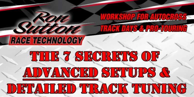 Ron Sutton Race Technology Workshop
