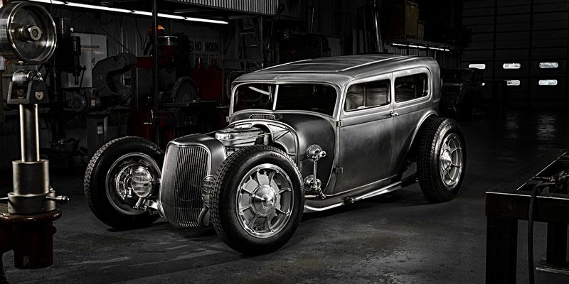 1929 Ford Model A Sedan Rad Rides by Troy Bowler Legend 5 speed