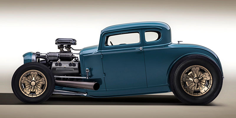 1930 Ford Model A CAL Bowler C4