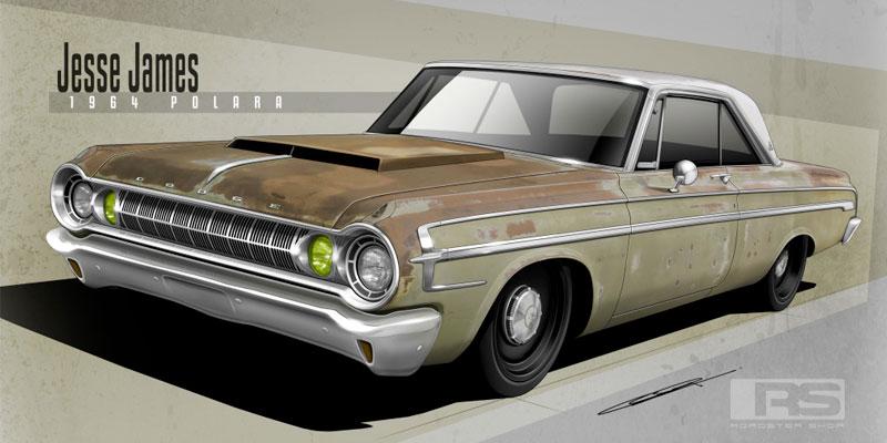 1964 Dodge Polara Bowler T-56 magnum