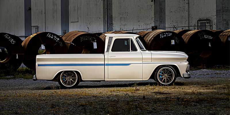 Grandfather S 1966 Chevrolet C10 Restored Bowler Transmissions