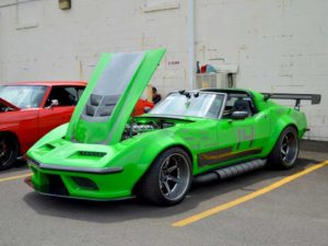 1968 Chevrolet Corvette Green Mamba