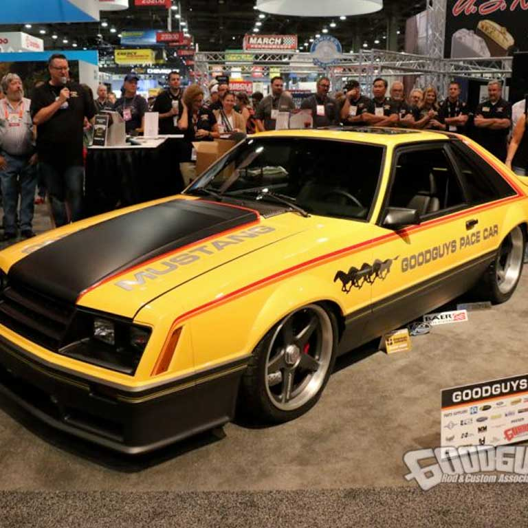 Goodguys 1979 Foxbody Mustang Pace Car by Goolsby Customs