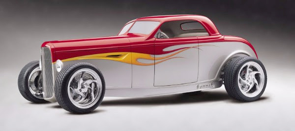 "1932 Ford ""Qudraduce"" Summit All Wheel Drive Roadster"