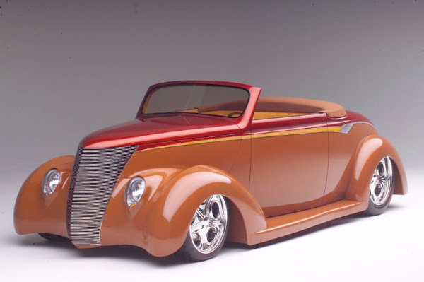 "1936 Ford ""Chocolate Thunder"""