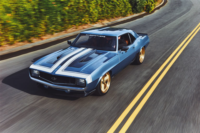1969 Chevrolet Camaro G-Code by Ringbrothers