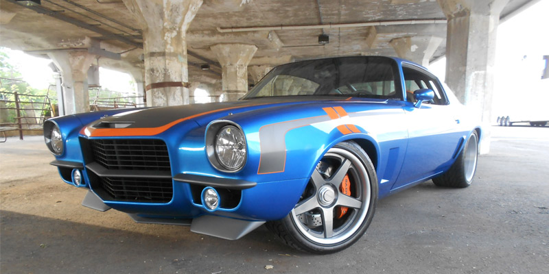 1971 Chevrolet Camaro Brute Force by Bob Bertelsen