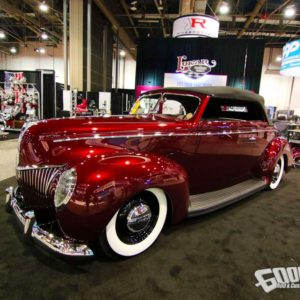 """1940 Ford Convertible """"Lucille"""" by Goolsby Customs"""
