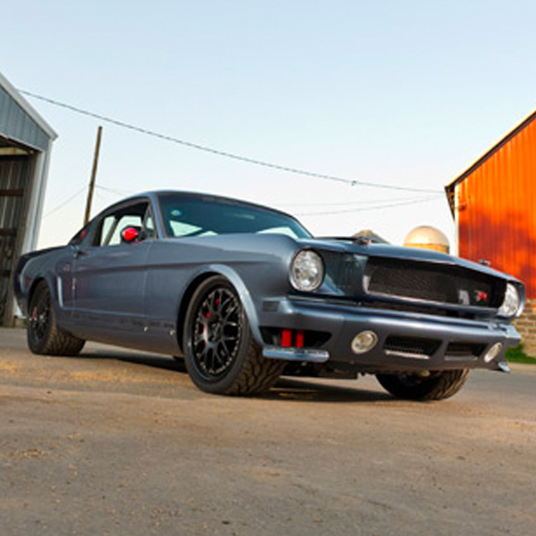 1966 Ford Mustang by Ringbrothers