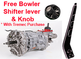Free Bowler Shift lever & knob with Tremec purchase