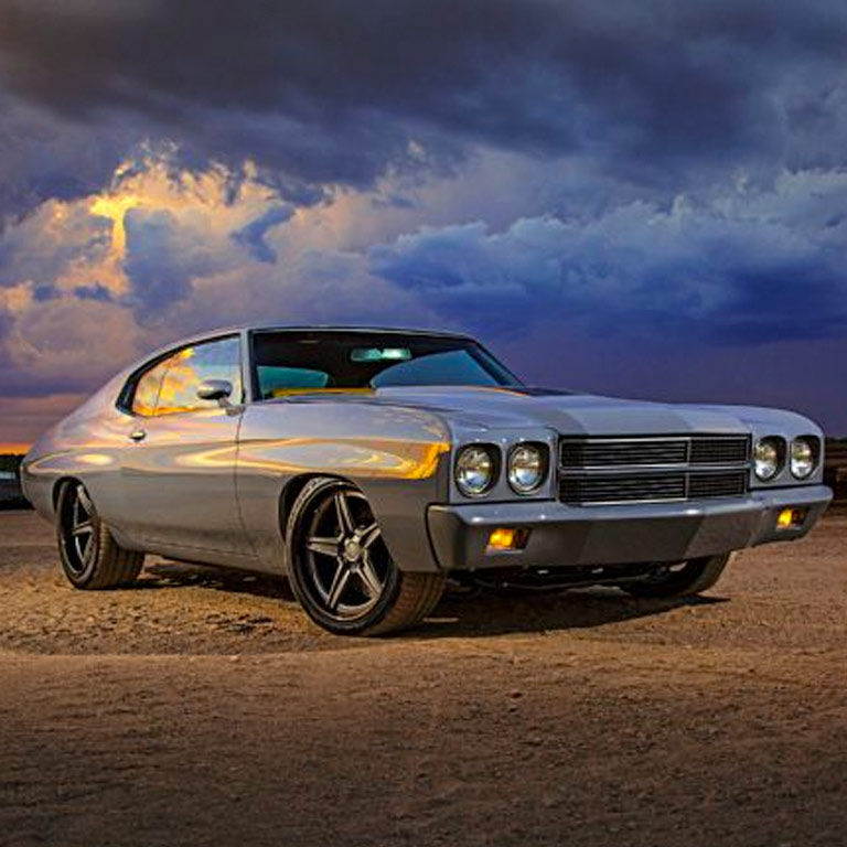 1970 Chewvrolet Chevelle by Goolsby Customs