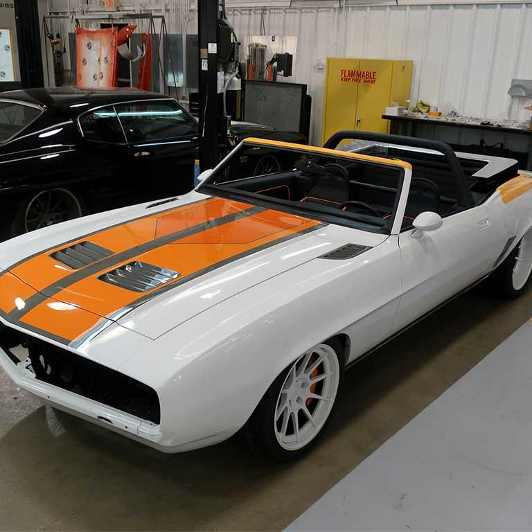 1969 Chevrolet Camaro by Detroit Speed