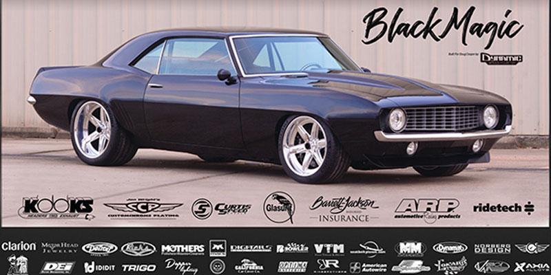 """1969 Chevrolet Camaro """"Black Magic"""""""