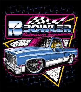 Bowler Squarebody 80's T-Shirt
